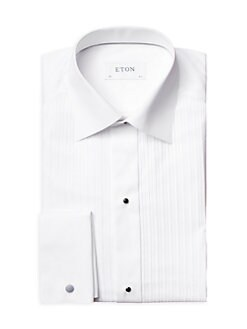 Eton of Sweden - Contemporary-Fit Pleated Bib Dress Shirt