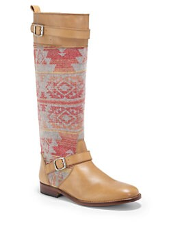 Candela - Asher Wool & Leather Moto Boots
