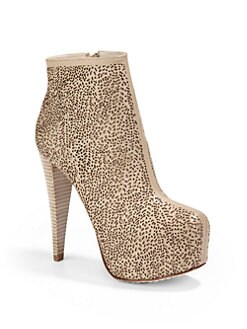Alice + Olivia - Paige Laser Cut Ankle Boots