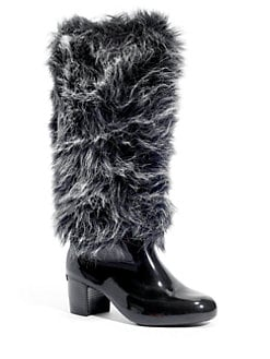 Melissa - Having Faux Fur Tall Boots