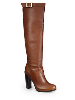 Rachel Zoe - Carmen Leather Hidden Platform Boots