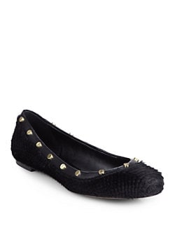 Rachel Zoe - Lena Calf Hair Ballet Flats