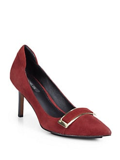 Rachel Zoe - Candice Kid Suede Pumps