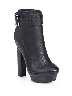 Rachel Zoe - Pippa Leather Platform Ankle Boots
