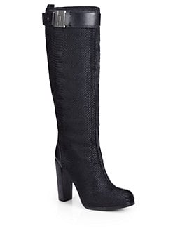 Rachel Zoe - Camille Calf Hair Hidden Platform Boots