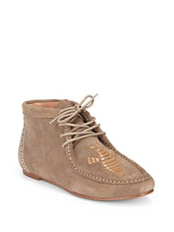 Joie - Eye Of The Tiger Moccasin Ankle Boots