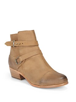 Joie - Gypsy Distressed Leather Ankle Boots