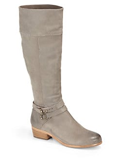 Joie - Landslide Distressed Leather Tall Boots