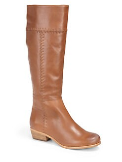 Joie - Journey Whipstitched Leather Boots