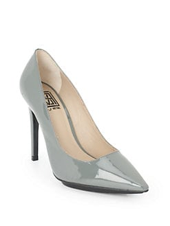 Pour La Victoire - Loelle Patent Leather Pumps