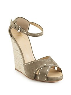 Giuseppe Zanotti - High Wedge Espadrille Sandals
