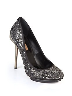 BCBGMAXAZRIA - Prish Studded Island Platform Pumps/Black