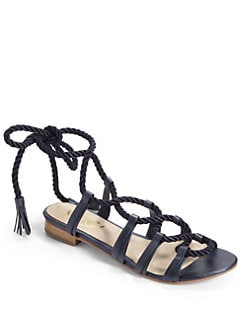 Candela - Belle Gladiator Sandals/Blue