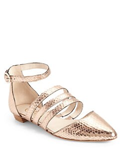 Candela - Jon Snow Ballet Flats/Rose Gold