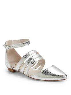Candela - Jon Snow Ballet Flats/Silver