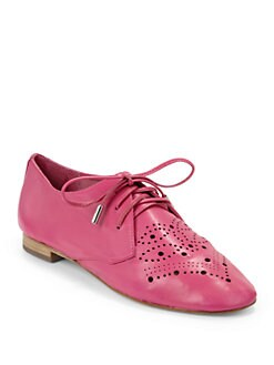 Candela - Perf Diado Oxford Flats/Pink