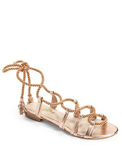 Candela - Belle Gladiator Sandals/Rose Gold