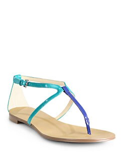 Boutique 9 - Palanee T-Strap Flat Sandals
