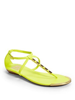 DV by Dolce Vita - Arty Open Metal T-Strap Sandal/Yellow
