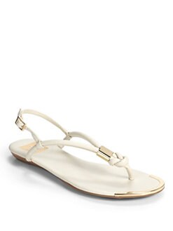 DV by Dolce Vita - Alto Metal Knot Thong Sandals/Bone