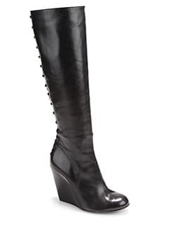Jerome C. Rousseau - Provence Tall Wedge Boots