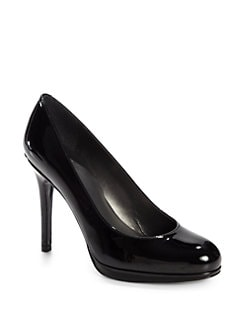 Stuart Weitzman - Platswoon Patent Leather Platform Pumps/Black