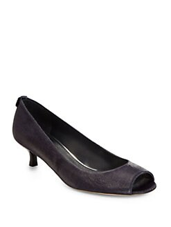Stuart Weitzman - Logosavoir Linen Pumps