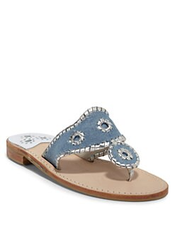 Jack Rogers - Denim Thong Sandals