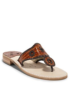 Jack Rogers - Sport Rust Thong Sandals