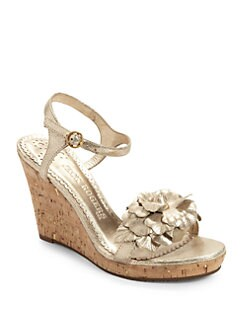 Jack Rogers - Exuma Cork Wedge Sandals