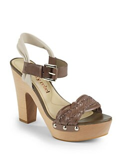 Luxury Rebel - Quintin Platform Sandals/Vision