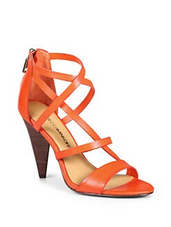 Rebecca Minkoff - Matty High Heel Sandals/Tangerine