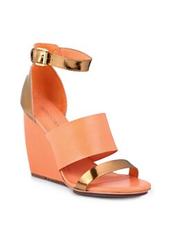 Rebecca Minkoff - Stella Wedge Sandals