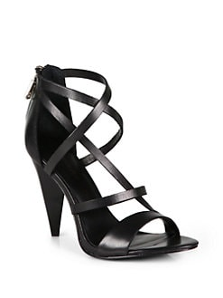 Rebecca Minkoff - Matty High Heel Sandals/Black