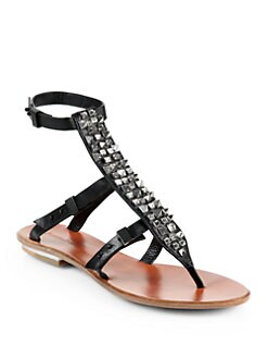Rachel Roy - Casey Studded Sandals/Black