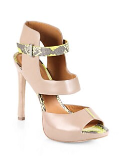 Rachel Roy - Devyn Cutout Leather Sandals