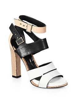 Rachel Roy - Fawn Mixed Media Sandals