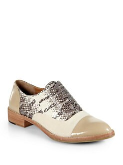 Rachel Roy - Laith Mixed Media Oxford Shoes