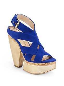 Dolce Vita - Ranger Crisscross Suede Sandals