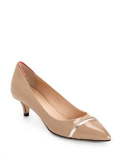 Calvin Klein Collection - Zirka Patent Leather Pumps