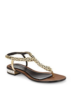 Boutique 9 - Bye Babe Panther Thong Sandals