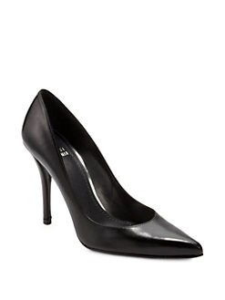 Stuart Weitzman - Naughty Leather Pumps