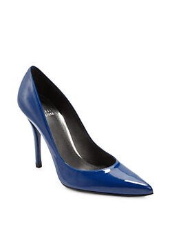 Stuart Weitzman - Naughty Patent Leather Pumps