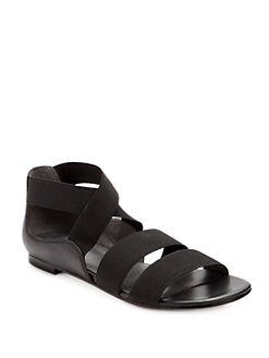 Stuart Weitzman - Bounce Flat Sandals