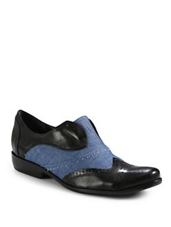 Pour La Victoire - Cassi Laceless Oxford Flats