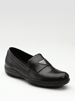 Prada - Logo Loafers