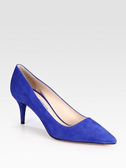 Prada - Suede Pumps
