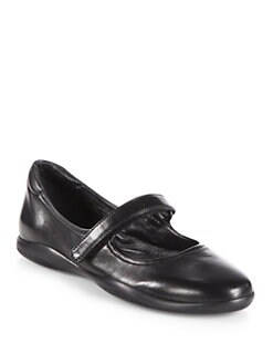 Prada - Mary Jane Leather Flats