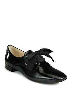 Prada - Patent Leather Oxfords