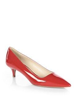 Prada - Patent Leather Pumps
